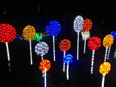 Lollipops%202 - Christmas Lights Spectacular Part 2 Hunter Valley Gardens 30 December